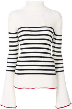 Each X Other striped turtle neck sweater