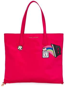 Marc Jacobs Wingman tote - PINK & PURPLE - STYLE