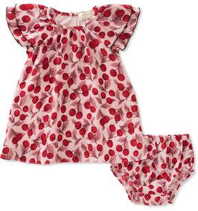 Kate Spade Ruffle-Sleeve Dress W/ Bloomers, Size 12-24 Months