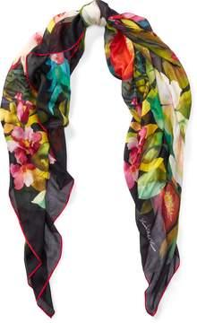 Ralph Lauren Floral Modal Scarf