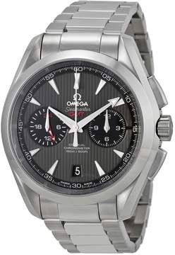 Omega Seamaster Aqua Terra Grey Dial Stainless Steel Men's Watch 23110435206001