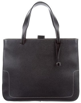 Bally Leather Medium Tote