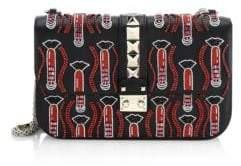 Valentino Medium Lock Shoulder Bag