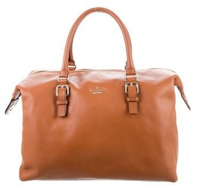 Kate Spade Luxe Travel Sami Satchel - BROWN - STYLE