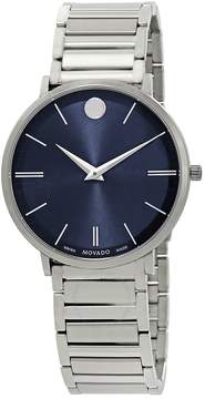 Movado Ultra Slim Blue Dial Men's Watch