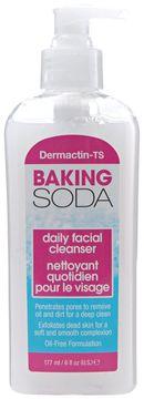 Dermactin-TS Baking Soda Daily Facial Cleanser