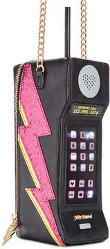 Betsey Johnson Don't Be A Cell Out Crossbody