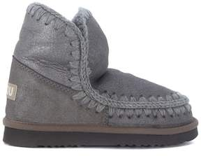 Mou Eskimo 18 Grey Sheepskin Ankle Boots
