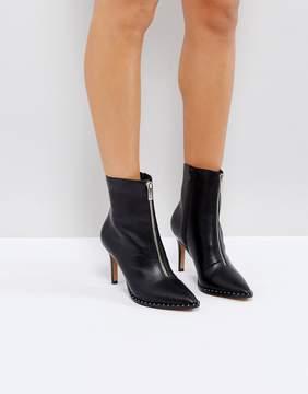 Asos ELLISON Pointed Zip Boots