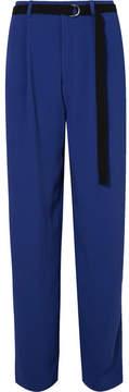 Joseph Riska Crepe Wide-leg Pants - Bright blue