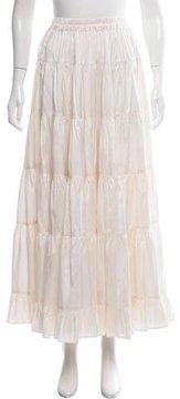 Calypso Freda Silk Midi Skirt w/ Tags
