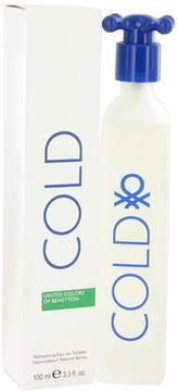 COLD by Benetton Eau De Toilette Spray for Women (3.4 oz)
