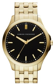 Armani Exchange Men's Round Bracelet Watch, 45Mm