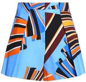 Emilio Pucci Printed Cotton-Poplin Shorts
