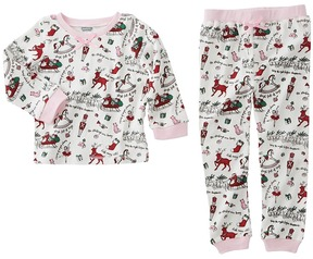 Mud Pie Very Merry Christmas Pajamas Girl's Pajama Sets