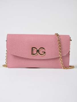 Dolce & Gabbana Micro Shoulder Bag - PINK & PURPLE - STYLE