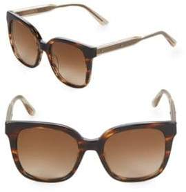 Bottega Veneta 52MM Oversized Sunglasses