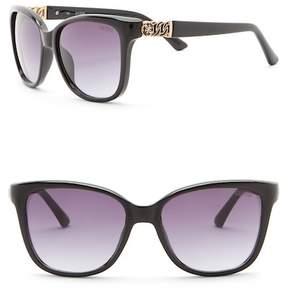 GUESS 56mm Square Sunglasses