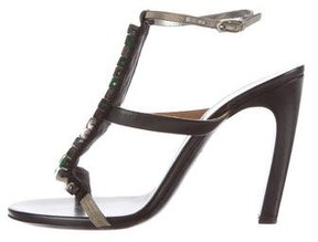 Dries Van Noten Stud-Embellished Multistrap Sandals