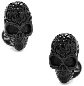 Cufflinks Inc. Men's Cufflinks, Inc. Black Fatale Skull Cuff Links