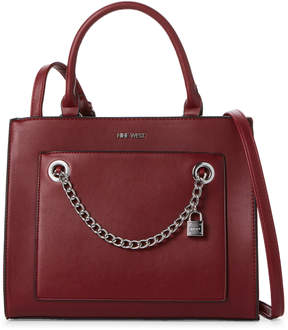 Nine West Claret Nenet Satchel