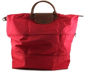 Longchamp Le Pliage Travel Bag Women Red Tote. - RED - STYLE