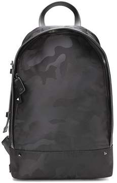 Valentino Men's Black Polyamide Backpack.