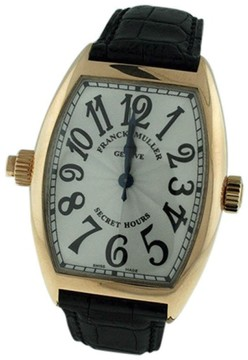 Franck Muller Cintree Curvex 18K Rose Gold & Leather 39mm x 47mm Watch