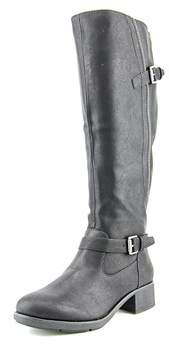Style&Co. Style & Co Gayge Wide Calf Women Round Toe Synthetic Black Knee High Boot.