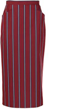 Stella Jean Stripe Tube Skirt