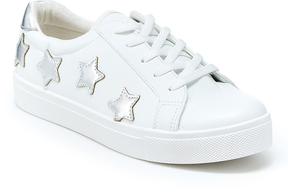UNIONBAY Silver & White Shooting Star Sneaker
