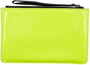 Corto Moltedo Yellow Plastic Clutch Bag