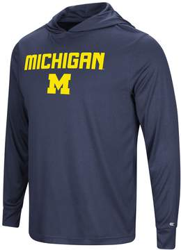 NCAA Men's Campus Heritage Michigan Wolverines Hooded Tee