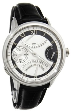 Maurice Lacroix Masterpiece Double Rétrograde MP7218-SS001-110 Stainless Steel Mens Watch