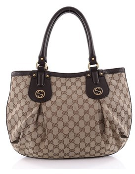 Gucci Pre-owned: Scarlett Tote Gg Canvas Medium. - BROWN - STYLE