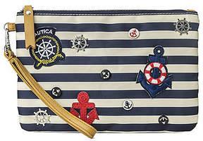 Nautica Precious Cargo Striped Wristlet