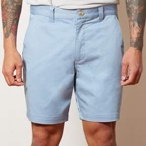 Blade + Blue Light Blue Cotton Stretch Twill Shorts