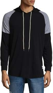 Kinetix Men's Drawstring Raglan Sleeve Hoodie