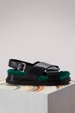 Marni Mink sandals