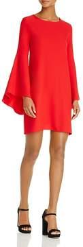Aqua Bell Sleeve A-Line Dress - 100% Exclusive