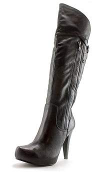 G by Guess Temika Round Toe Synthetic Over The Knee Boot.