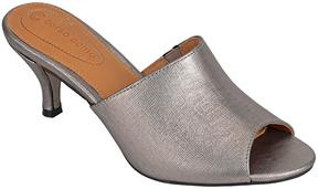 Corso Como Coral Leather Mule