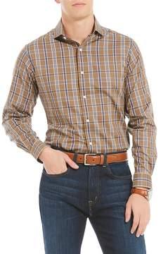 Daniel Cremieux Prince Slim-Fit Plaid Fine Twill Long-Sleeve Woven Shirt