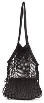 Vetements Granny Medium Leather Bag - Womens - Black