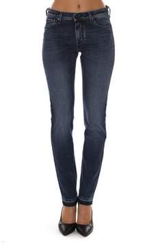 Jacob Cohen Women's Blue Cotton Jeans.
