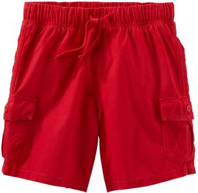 Osh Kosh Oshkosh Bgosh Toddler Boy Red Cargo Shorts