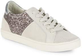 Dolce Vita Women's StarlaGlitter Leather Sneakers