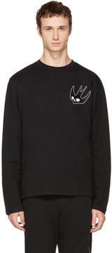 McQ Black Swallow Skater Sweatshirt