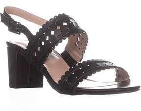 Karen Scott Ks35 Dabby Sling-back Dress Sandals, Black.
