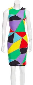 Fausto Puglisi Geometric Bodycon Dress